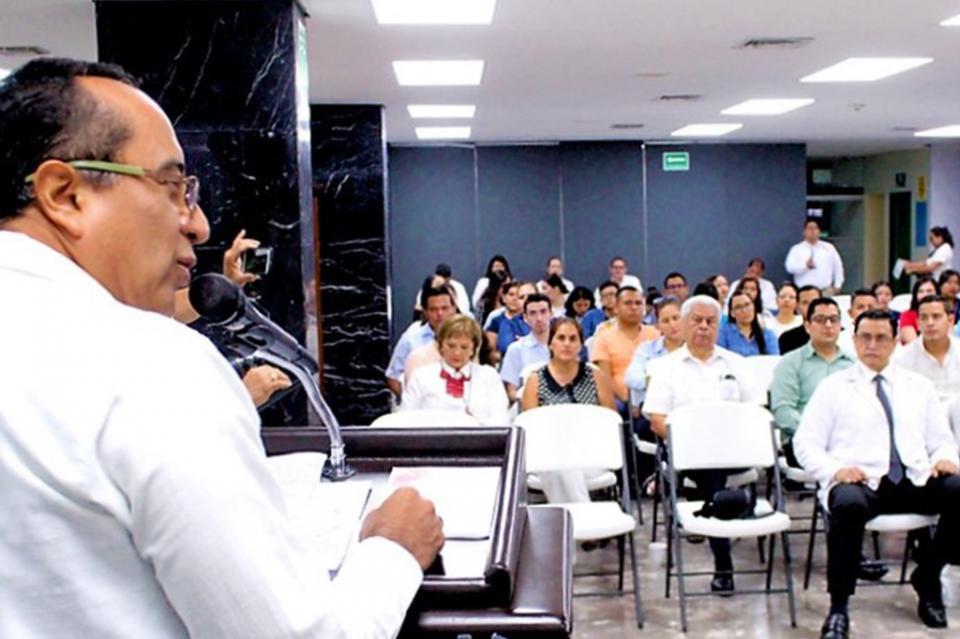 La optimización de infraestructura y recursos de salud es una realidad en BCS: George Flores