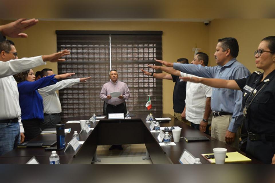 Se instala la comisión del servicio profesional de Carrera Policial, Honor y Justicia de la SSPE