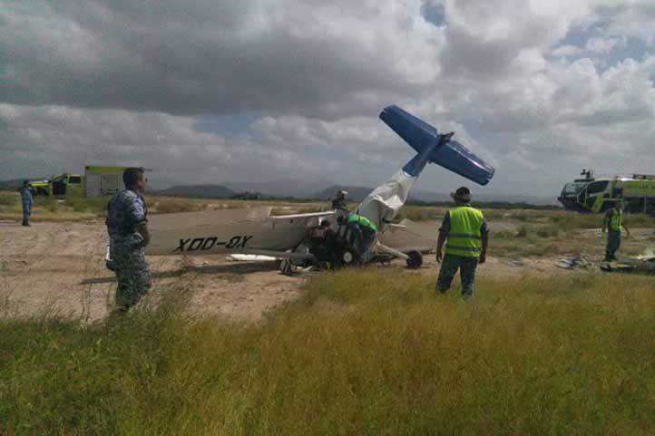 Confirman muerte del copiloto que viajaba en avioneta que se estrelló en La Paz