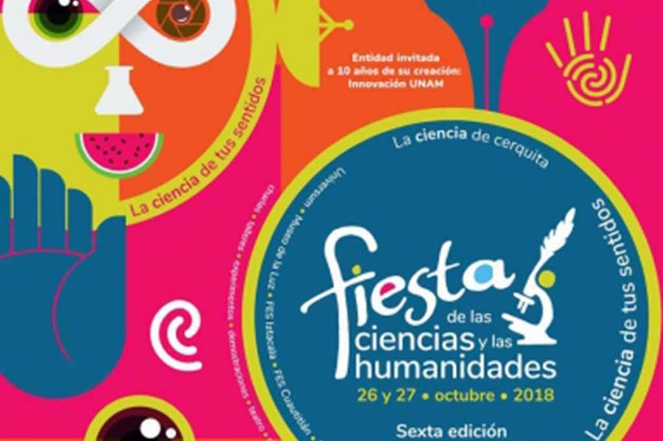 Mañana inicia la Fiesta de las Ciencias y las Humanidades 2018
