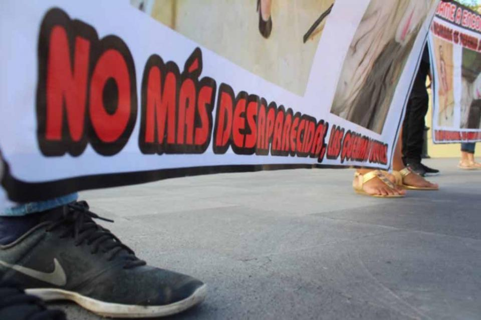 Continúan marchas para que localicen a jóvenes desaparecidas