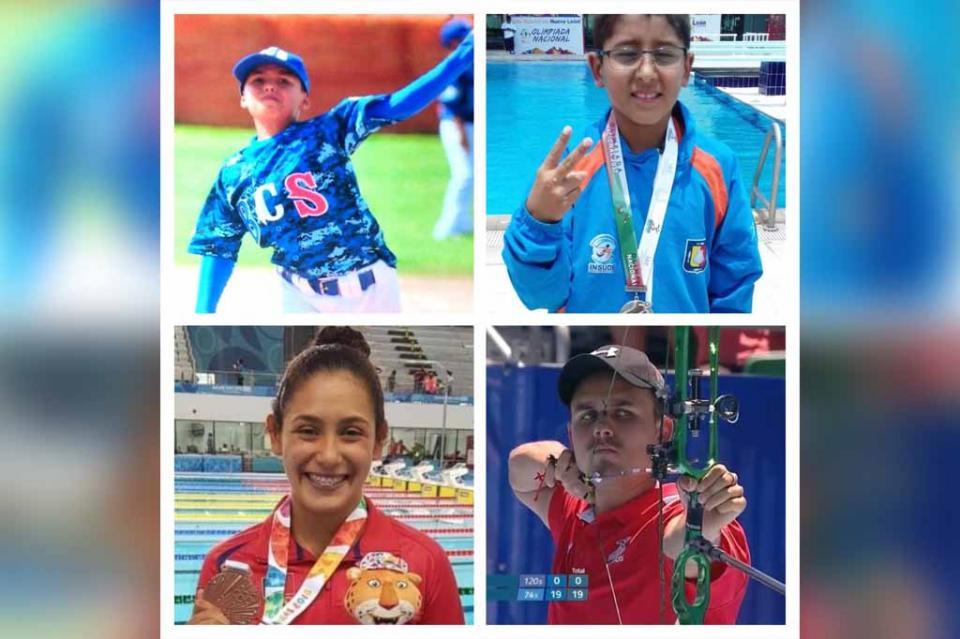 Recibirán 4 atletas Reconocimiento a la Excelencia Académica-Deportiva