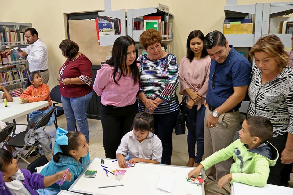 Vamos por nueve audiencias en las nueve bibliotecas públicas: Armida Castro Guzmán
