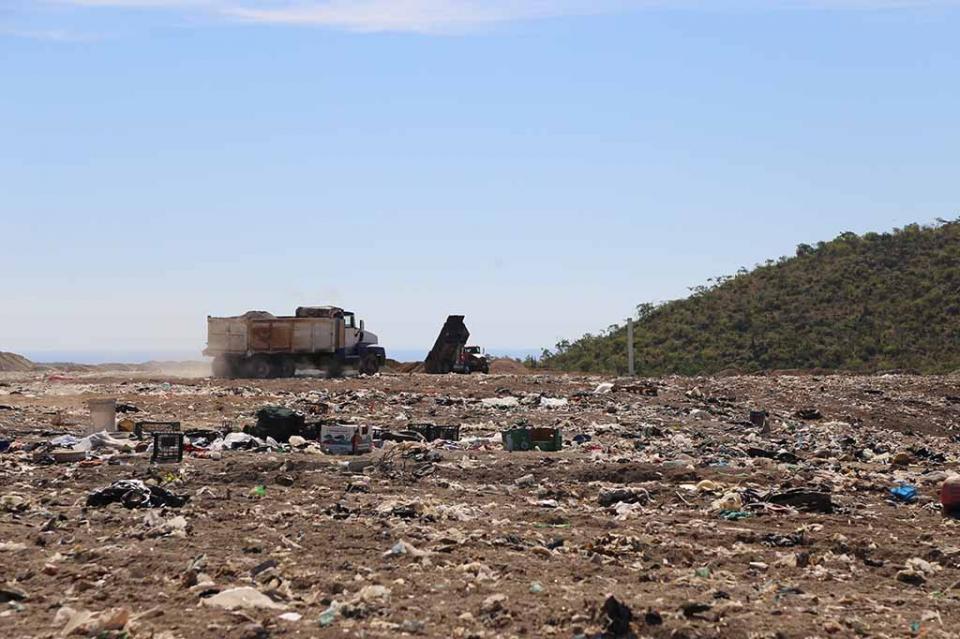 Aproximadamente 400 toneladas de basura recibe relleno sanitario de Palo Escopeta