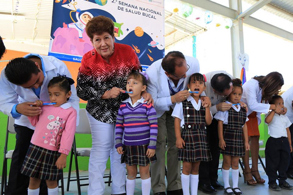 Inicia Segunda Semana Nacional de Salud Bucal