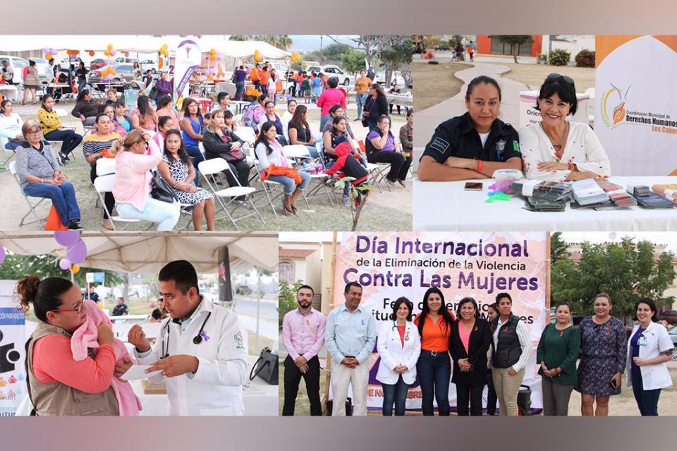 Más de 100 mujeres de Villas de Cortez se atendieron en feria de servicios