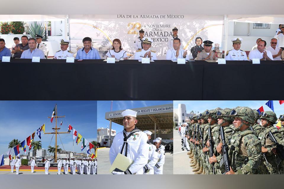 Conmemoran en CSL día de la Armada de México