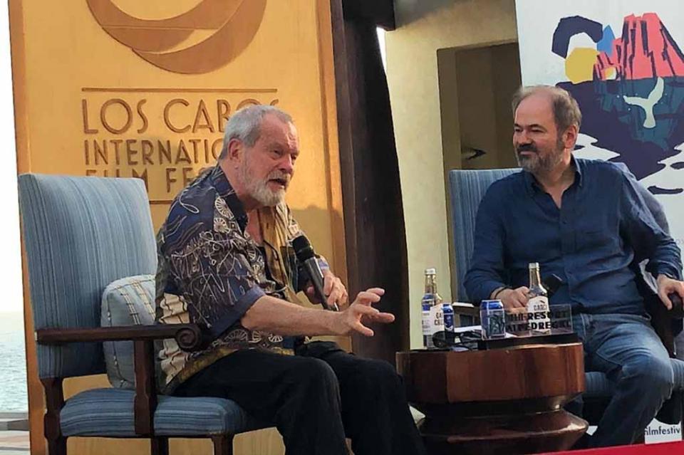 Para el realizador Terry Gilliam la vida es una comedia