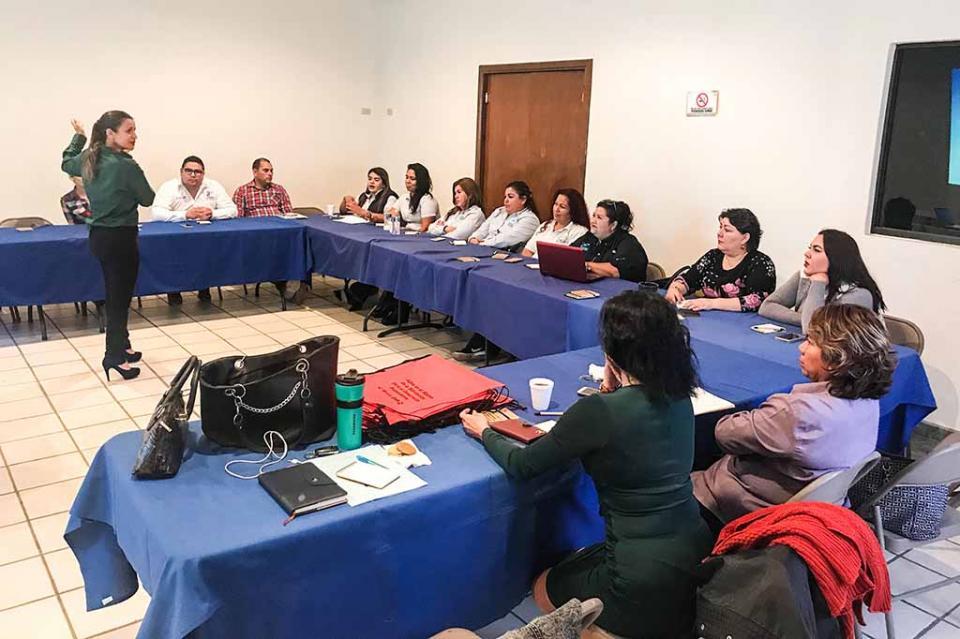 Capacita Gobierno del Estado a operadores municipales de Loreto