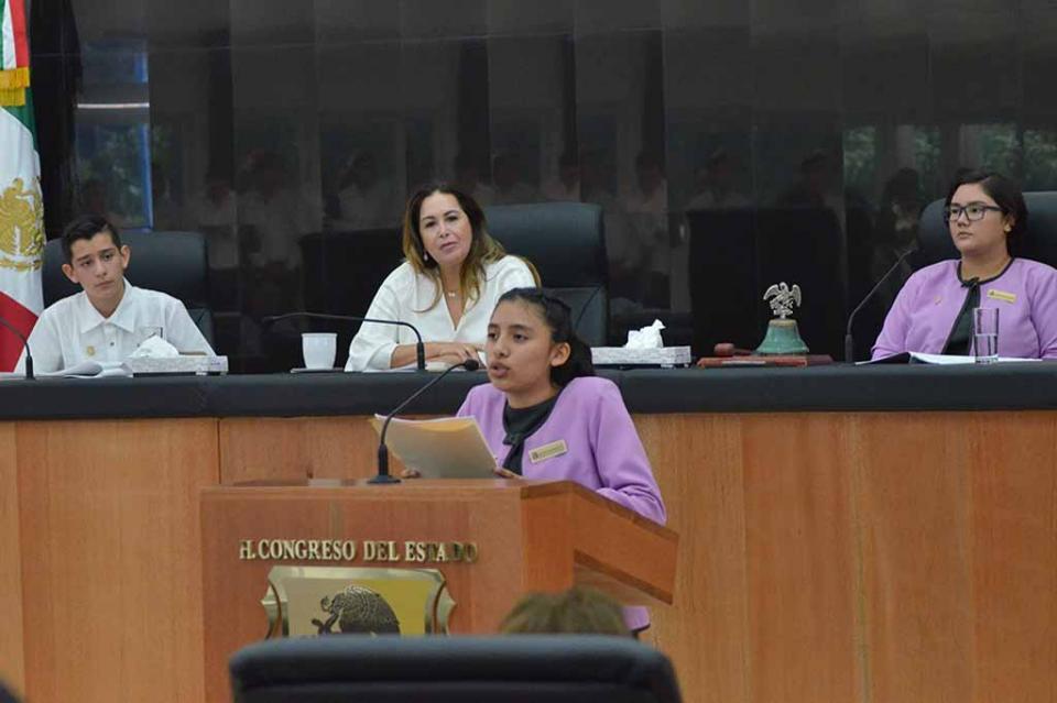 El XI Parlamento de la Juventud  llama a la sociedad de Baja California Sur a cuidar el Medio Ambiente