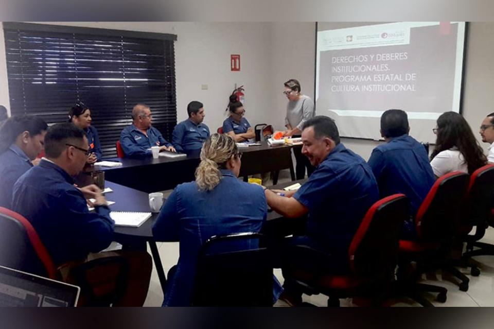 Imparten taller sobre Cultura Institucional con perspectiva de género
