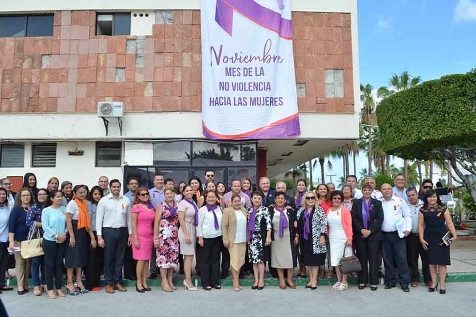 Inicia Congreso del Estado jornada de concientización sobre el problema de la violencia hacia las mujeres en Baja California Sur
