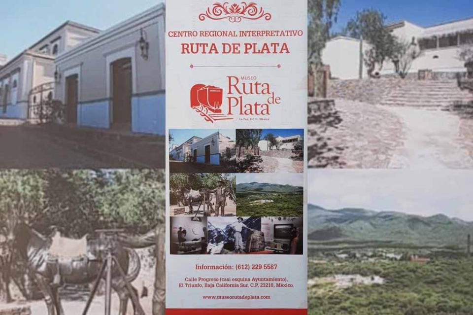 "Inauguran museo ""Ruta de Plata"" en El Triunfo"