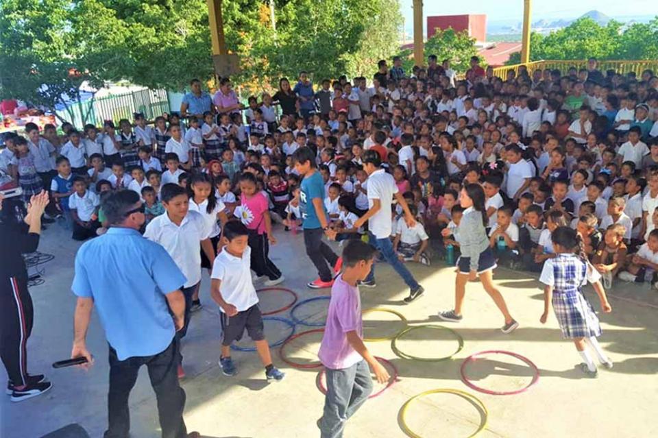Lleva SEP programa cultural de prevención a más de 5 mil alumnos de Los Cabos