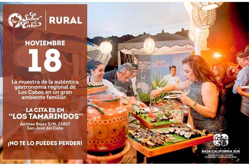 Invita SETUES a muestra gastronómica Sabor a Cabo Rural