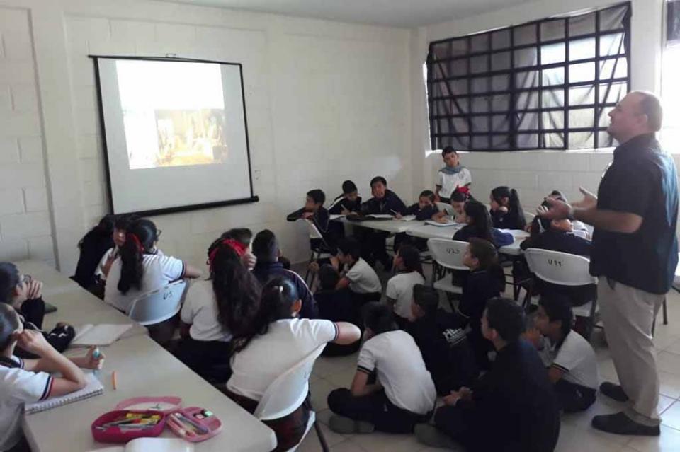 Fomenta SETUES educación ambiental y cultura turística en estudiantes