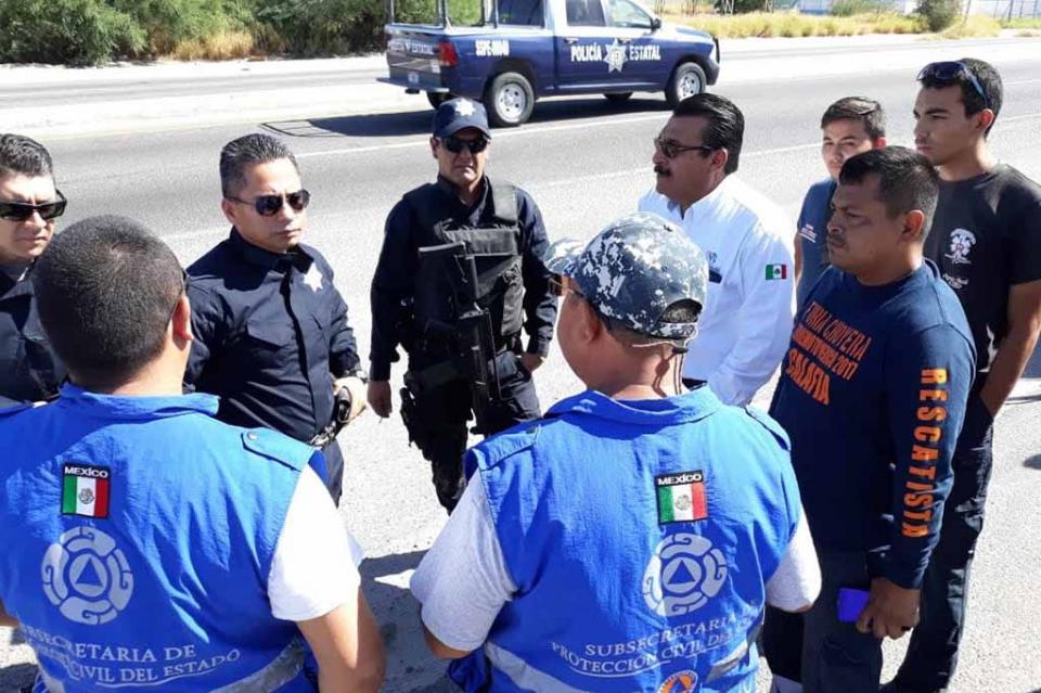 Coordina Protección Civil Estatal operativo en Sierra de la Laguna