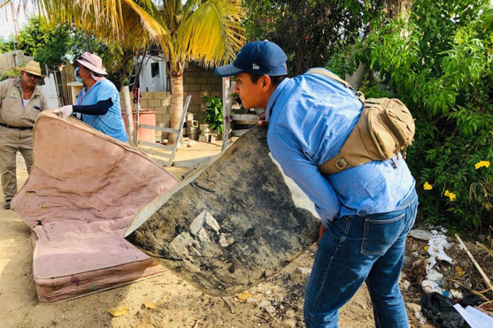 Mantiene salud esfuerzos de saneamiento básico en San José del Cabo
