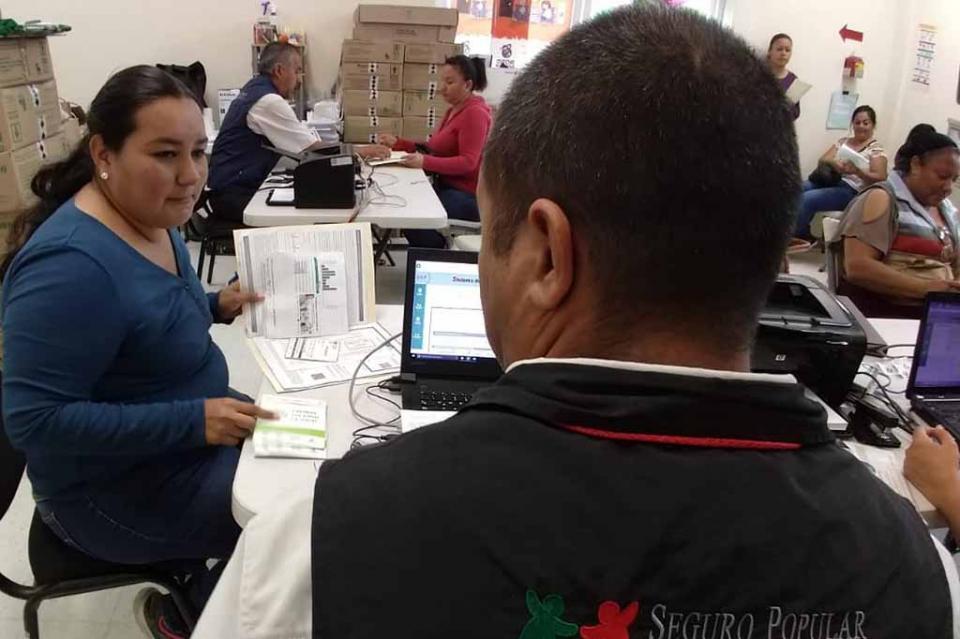 Alrededor de 50 mil pólizas del Seguro Popular se han renovado en BCS durante 2018