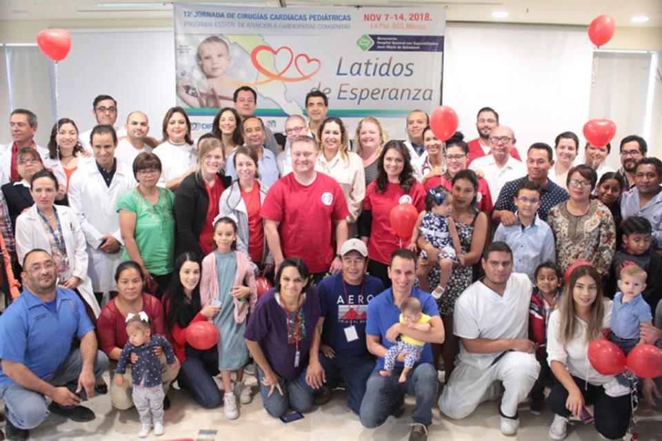 Concluye con resultados exitosos la 12ª jornada de cirugías cardiacas pediátricas