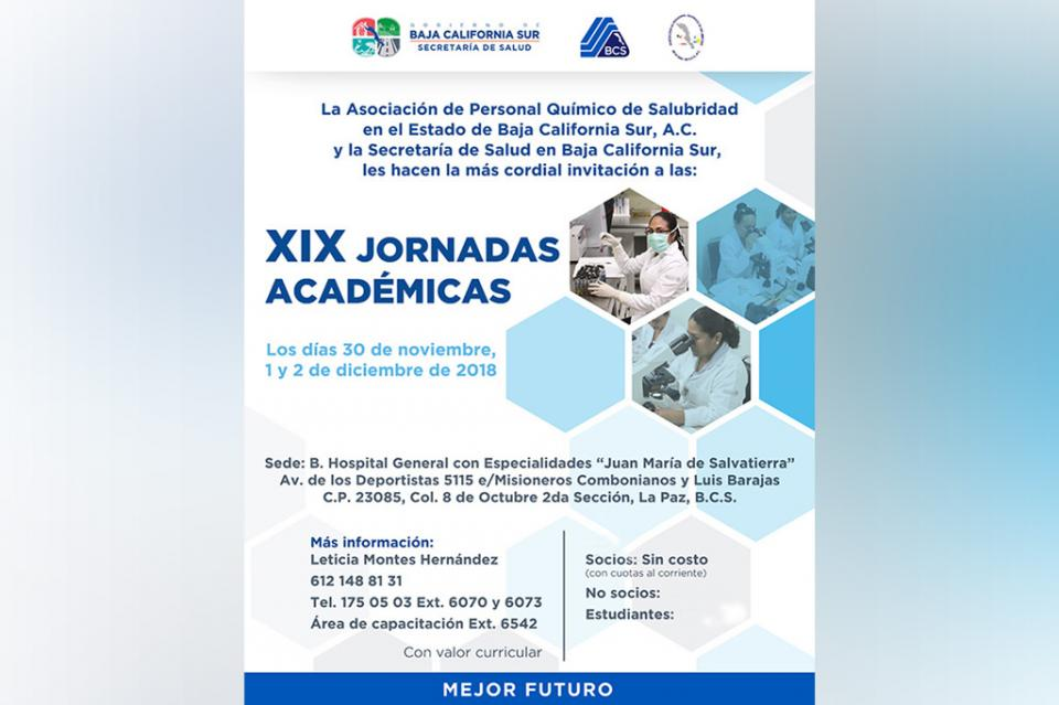 Desarrollarán jornada académica para reforzar el trabajo de laboratorio en BCS