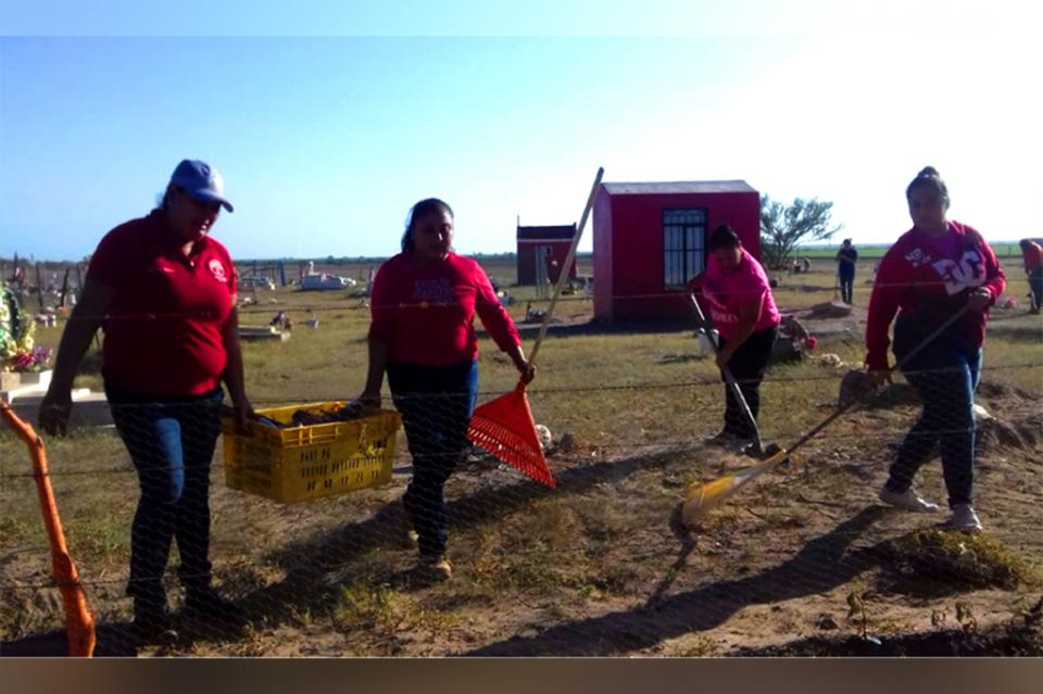 Salud efectúo jornada de limpieza en comunidad de Benito Juárez