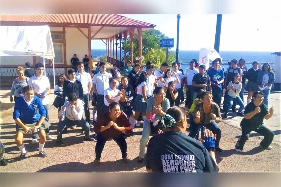 Secretaría de Salud desarrolla Feria de Medicina Preventiva en Santa Rosalía
