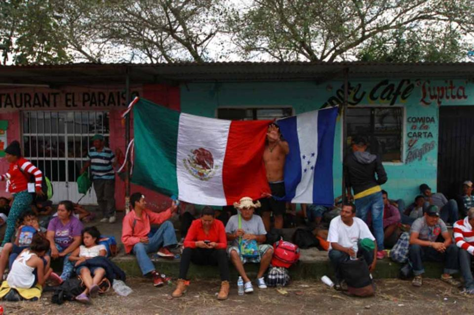 Casi tres mil 257 centroamericanos han solicitado refugio en México