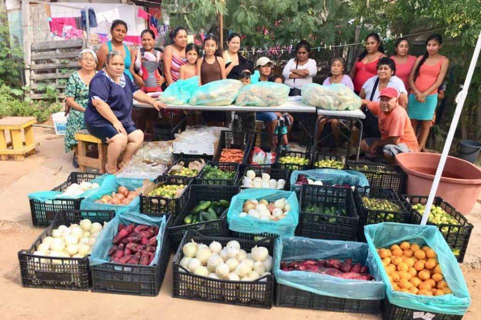Con la época invernal la CROC refuerza la entrega de frutas y verduras a familias de Los Cabos