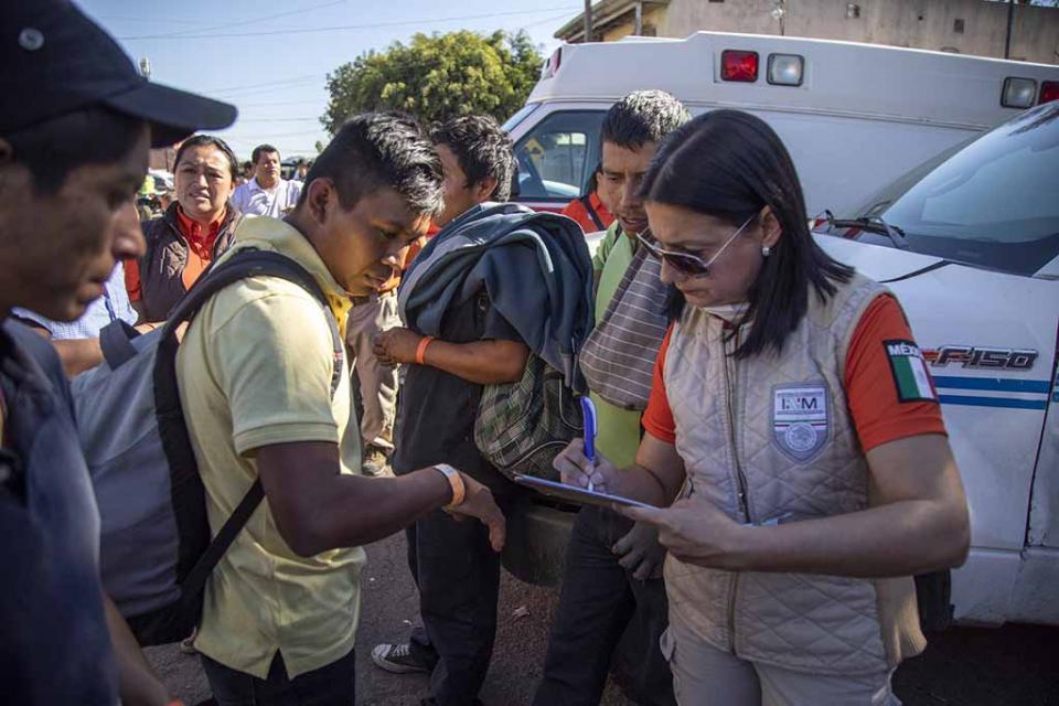 Piden deportación voluntaria 70 migrantes centroamericanos en Tijuana