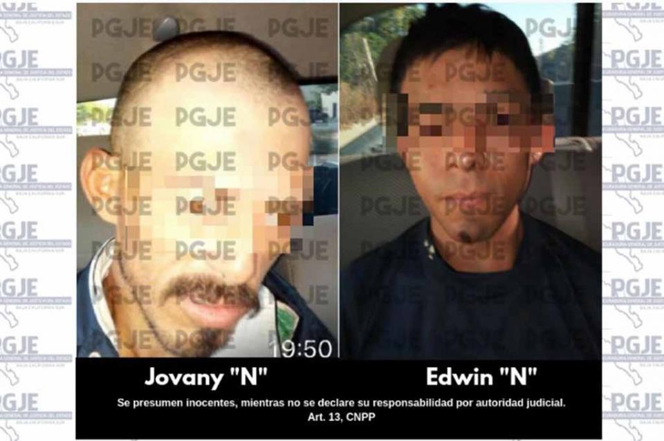 Asegura PGJE a tres personas y más de mil dosis de cristal y marihuana en SJC
