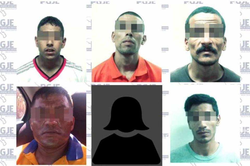 Detienen a 6 personas con más de mil dosis de droga en La Paz