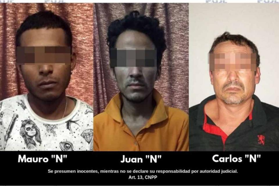 Detiene PGJE a 3 personas con mil 575 dosis de droga en Los Cabos