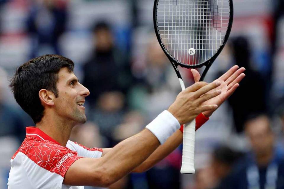Djokovic, quinto en número de semanas en la cima de la ATP