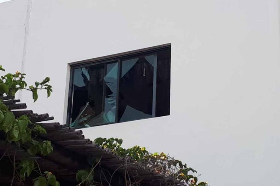 Se registra explosión en una casa de Cumbres de El Tezal