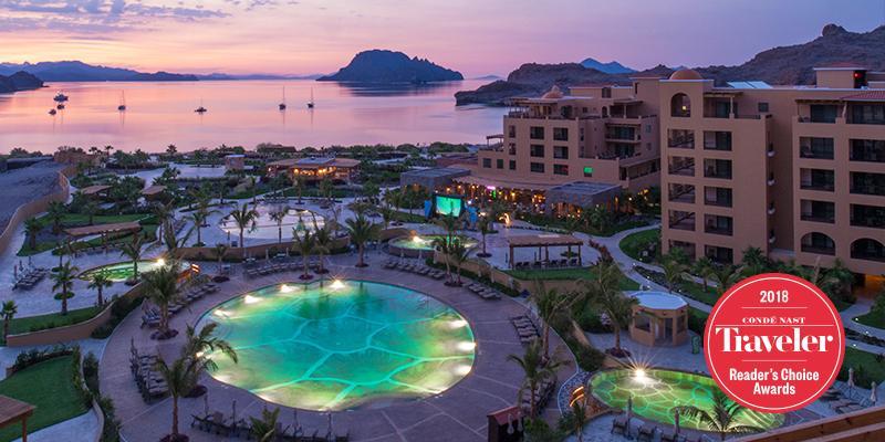 Villa del Palmar Beach Resort and Spa at the islands of Loreto earns Conde Nast Traveler Readers' Choice Award