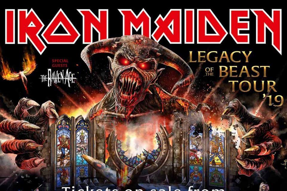 """Banda Iron Maiden regresará a México con su tour """"Legacy of the beast"""""""