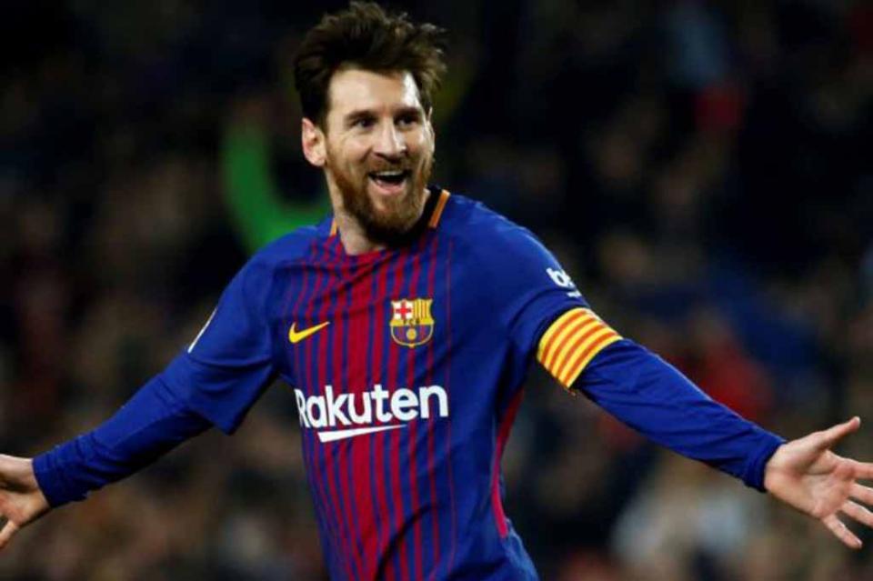 Messi recibe Pichichi 2017-2018 por mejor goleador en la Liga de España