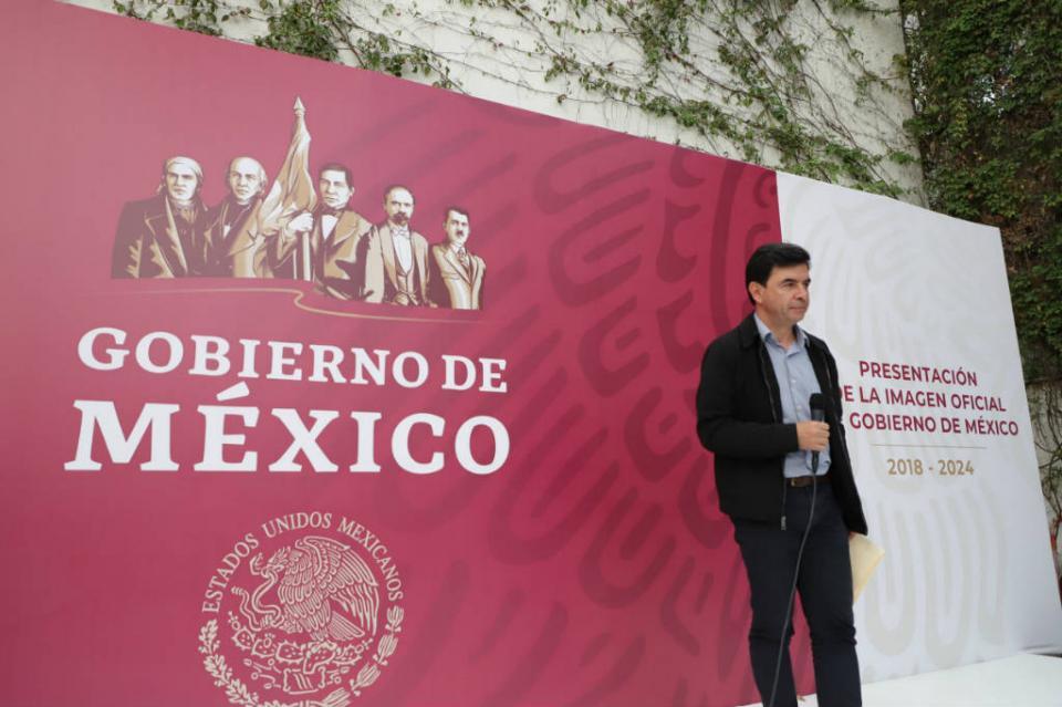 Presentan nueva imagen del gobierno federal que encabezará López Obrador