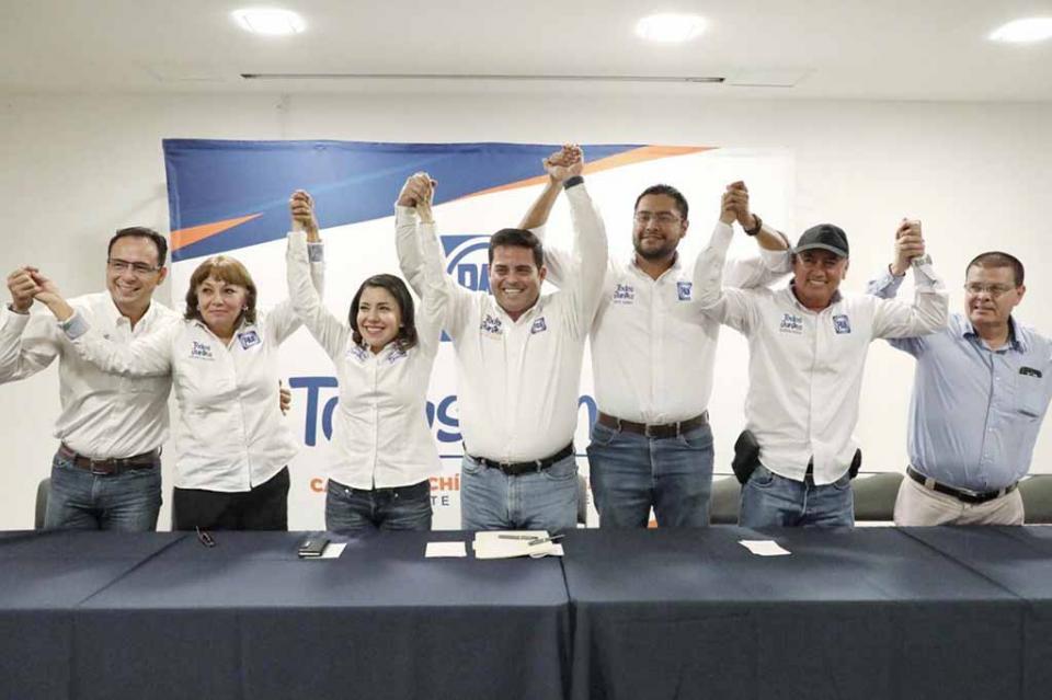 Con éxito concluye el proceso de elección de la nueva dirigencia estatal del PAN en BCS