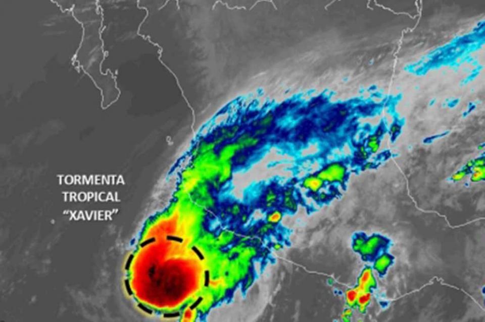 Xavier favorecerá potencial de lluvias en occidente y sur del país