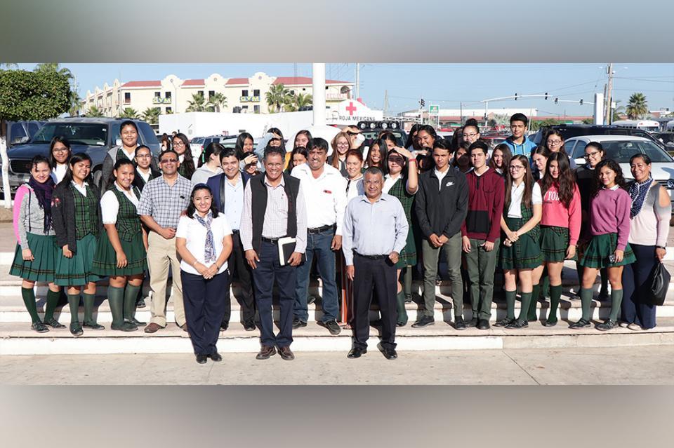 Por primera vez se entona el Himno del Estado de Baja California Sur en la delegación de CSL