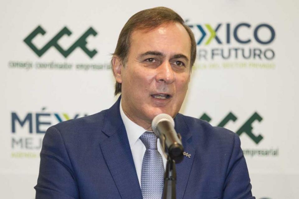 Postulan a Carlos Salazar al frente del Consejo Coordinador Empresarial