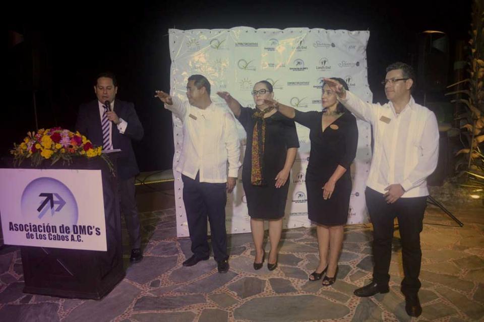 Toma protesta nueva mesa directiva de la Asociación de DMC'S de Los Cabos
