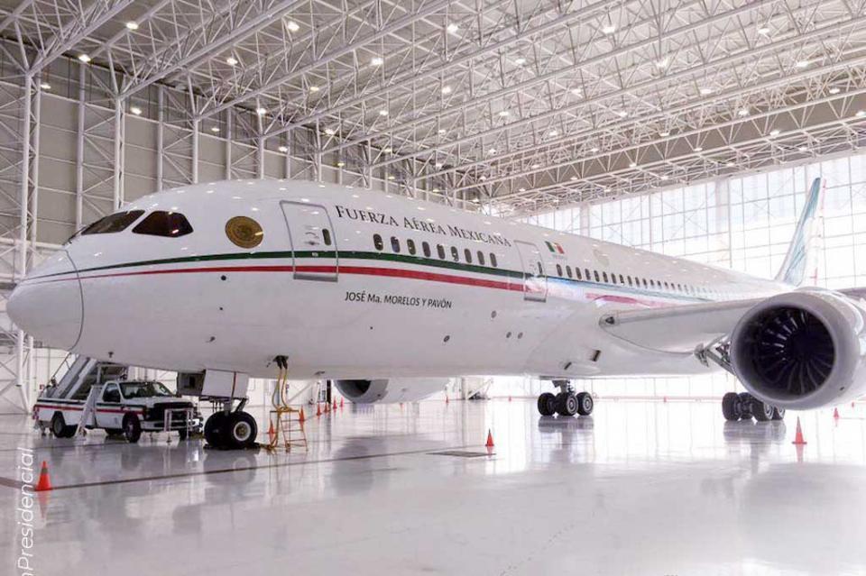 Avión Presidencial saldrá mañana de territorio mexicano; va a EUA
