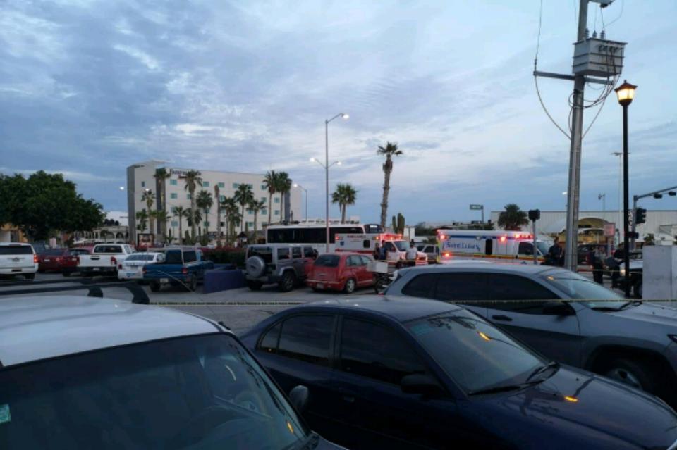 Detiene Policía Municipal a sujeto que disparó contra un hombre por riña en plaza de CSL