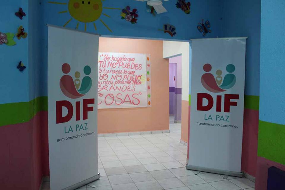 Entregan Rehabilitación del Centro de Atención Infantil Olachea