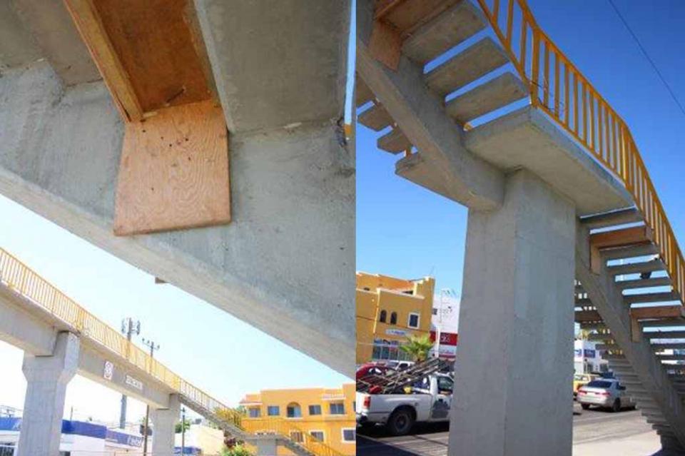 """""""No es normal que obra de puentes peatonales sufran daños estructurales cada cierto periodo"""": Marcelino Sotelo"""
