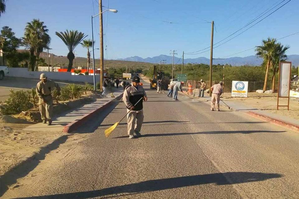 Realiza Servicios Públicos intensa campaña de limpieza en calles de la Ribera