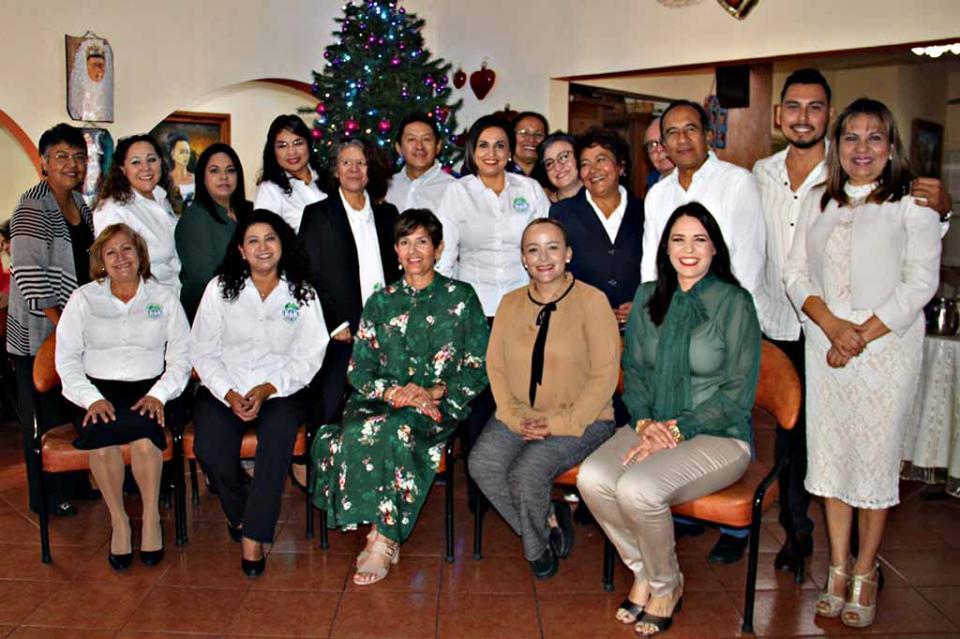 SEDIF agradece a colaboradores del albergue asistencia social